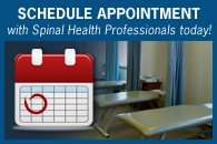 Schedule an appointment with Spinal Health Professionals today!